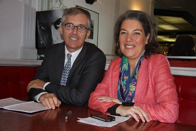 Philippe Lailler et Sonia de la Provôté